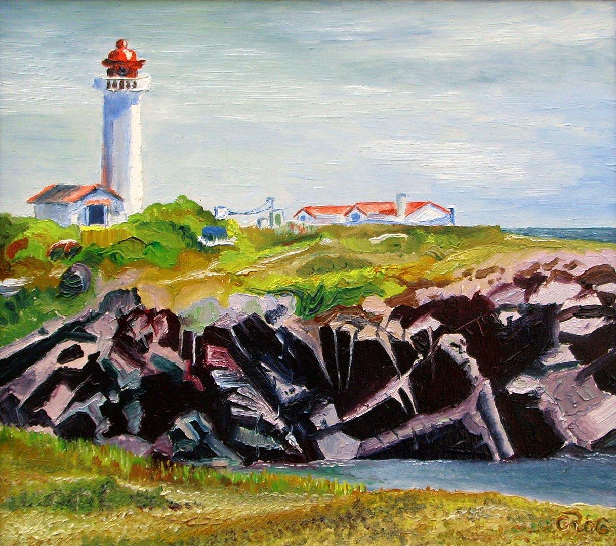 Maják na ostrove Île d' Yeu (FR)